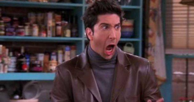 Vas a flipar al ver qué pasa cuando le pones a Ross Geller (Friends) la cara de Nicolas