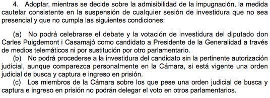 ¿Puede ser Jordi Sànchez president de la Generalitat desde la