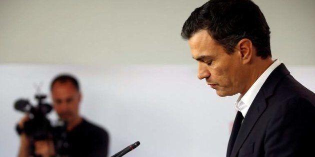 Pedro Sánchez triste en una imagen de