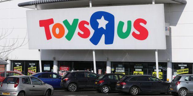 Un establecimiento de Toys 'R' Us en el centro comercial de St Andrews en Birmingham (Reino