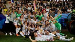La selección española femenina logra lo que nunca había logrado