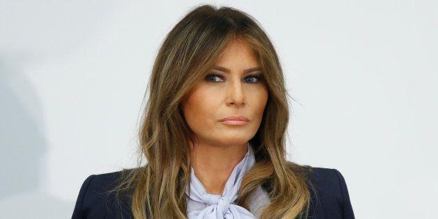La primera dama de EEUU, Melania