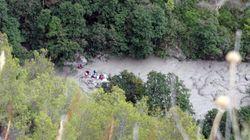 El desbordamiento del río Raganello en el sur de Italia deja al menos 11