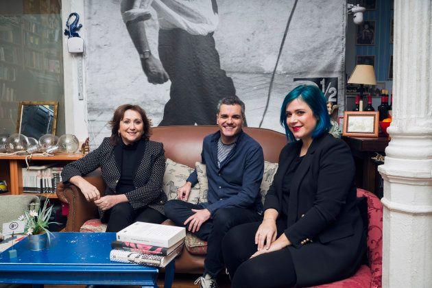 Pilar Blasco, CEO de Endemol Shine Iberia y Productora Ejecutiva de Memorias de Idhún, Carlos Montero,...