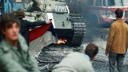 La batalla que casi se libró entre militares soviéticos y figurantes checos en