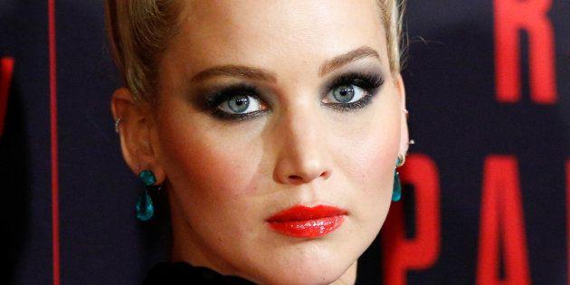 Jennifer Lawrence en la premiere de 'Gorrión