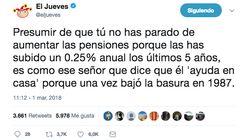 La indignada comparación de 'El Jueves' sobre la subida de las pensiones del Gobierno del PP que incendia