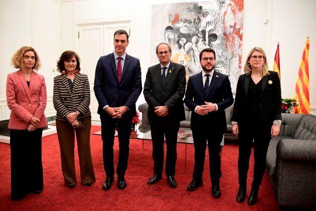 La Generalitat revela los 21 puntos que Quim Torra pidió a Pedro Sánchez en