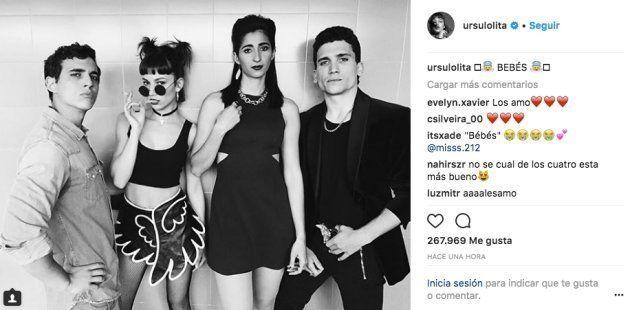 Úrsula Corberó arrasa en Instagram con esta foto junto a sus