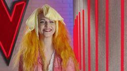 Cachondeo con el extraño 'look' de una aspirante de 'La Voz' (Antena