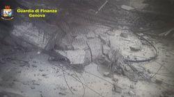 El vídeo del momento exacto del derrumbe del puente de