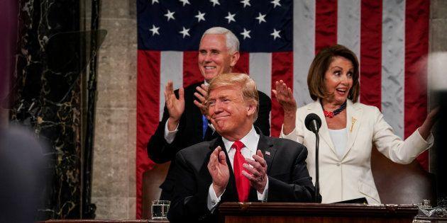 Un comedido Trump anuncia su segunda cumbre con Kim Jong-un, saca pecho con la economía y se apalanca...
