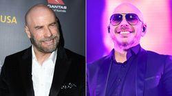 Pitbull es el responsable de que John Travolta ya no se ponga