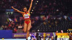 Ana Peleteiro entra en la historia del atletismo