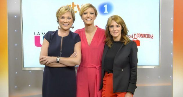 Las hasta ahora presentadoras de las mañanas de TVE: Inés Ballester, María Casado y Macarena