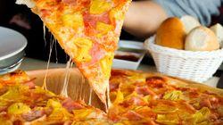La imagen que demuestra que los amantes de la pizza con piña son