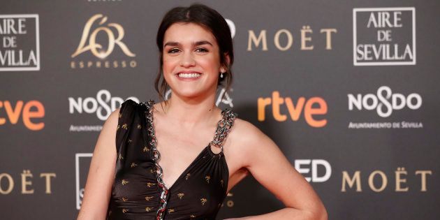 Amaia Romero en los premios