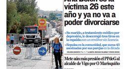 El desafortunado titular de un periódico sobre la última víctima de la violencia de