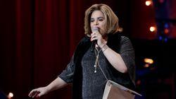 El divertido vídeo de Paquita Salas en el teatro de los