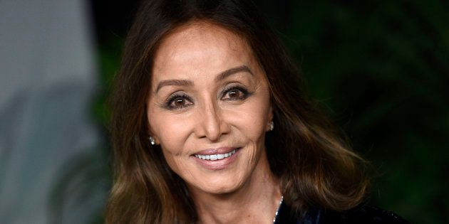 Isabel Preysler, en un evento de la Cibeles Fashion Week Madrid el 24 de enero de