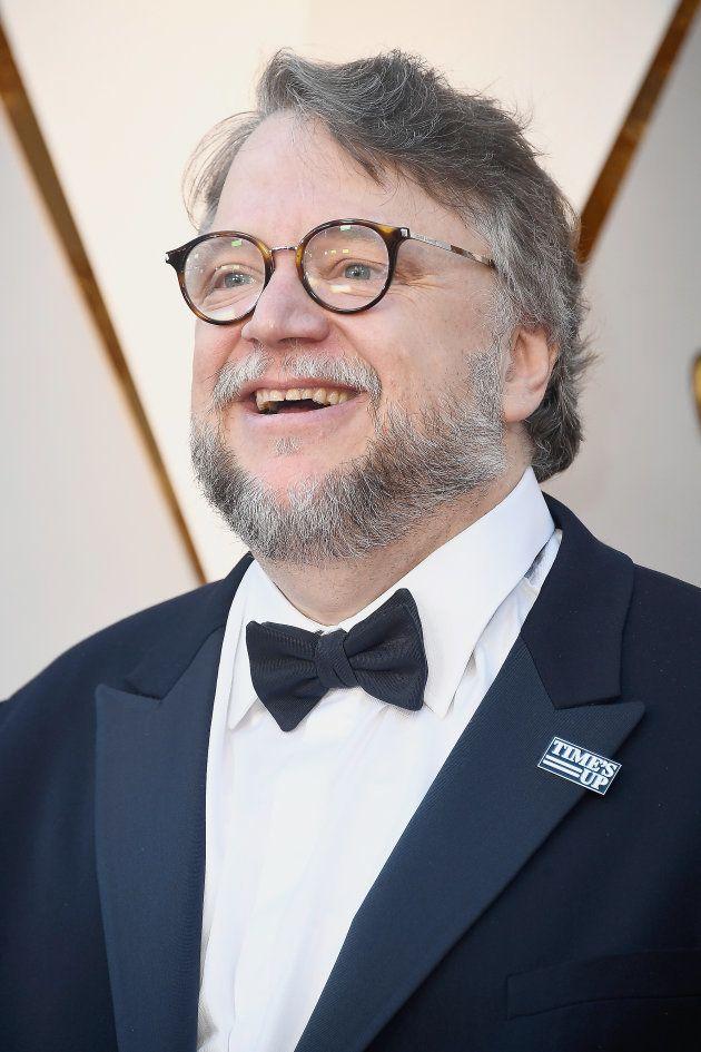 Guillermo del Toro en la alfombra roja de la 90ª edición de los Premios