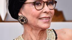 La actriz Rita Moreno acude a los Oscar con el mismo vestido de la ceremonia de