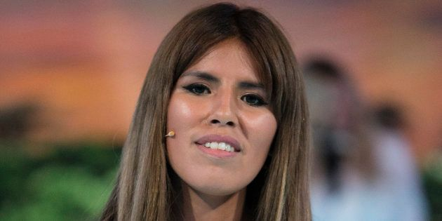 Isa Pantoja, durante una gala de 'Supervivientes' el 26 de abril de
