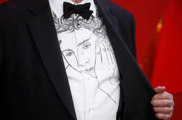La comentada camisa del guionista de 'Call me by your name' es un homenaje a su