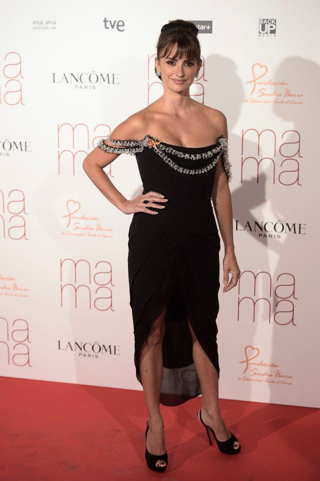 La actriz Penélope Cruz en el estreno de 'Ma Ma' en