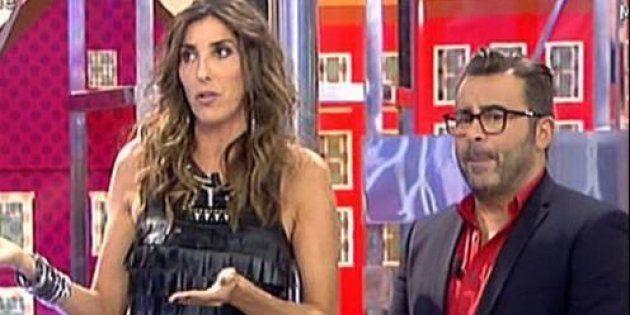 Paz Padilla y Jorge Javier Vázquez, protagonistas improvisados de la alfombra roja de los