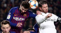 Barcelona y Real Madrid empatan (1-1) en la ida de semifinales de Copa del