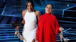 El aplaudido gesto feminista de Tiffany Haddish y Maya Rudolph en los