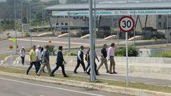 El Ejército venezolano bloquea el puente por el que puede entrar ayuda a