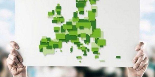 Cartel electoral de Los Verdes en
