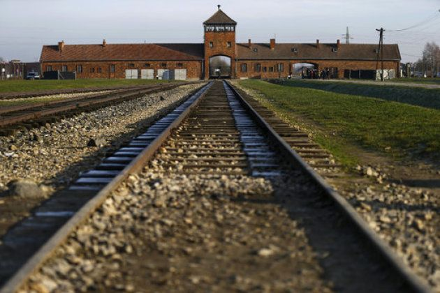 Las vías de tren de Auschwitz, en la