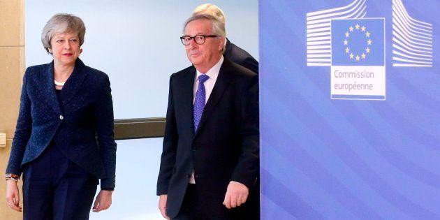 May y Juncker este jueves en