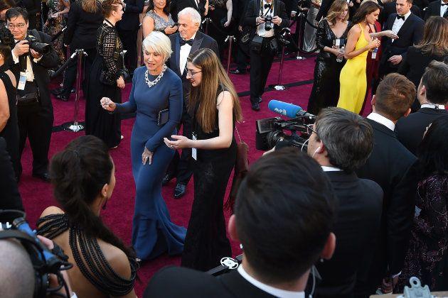 Helen Mirren, en la alfombra