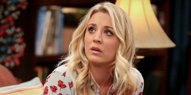 La actriz Kaley Cuoco, en la serie 'The Big Bang