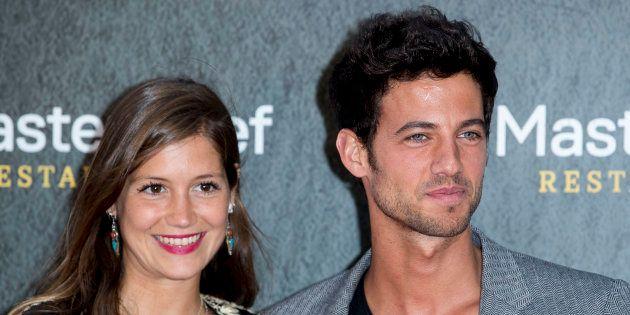 Jorge Brazález y Miriam Pérez, en la apertura del restaurante de 'MasterChef' en Madrid el 4 de junio...