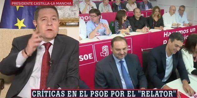 La pullita que García-Page lanza al aire: