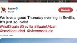 Críticas a Turismo de España por este tuit sobre Sevilla: fíjate en lo que sale en la