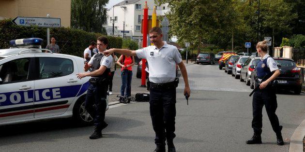 La policía acordona la zona en la que se ha registrado el