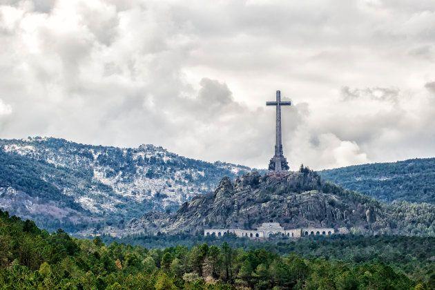 Vista general del Valle de los Caídos, en una imagen de