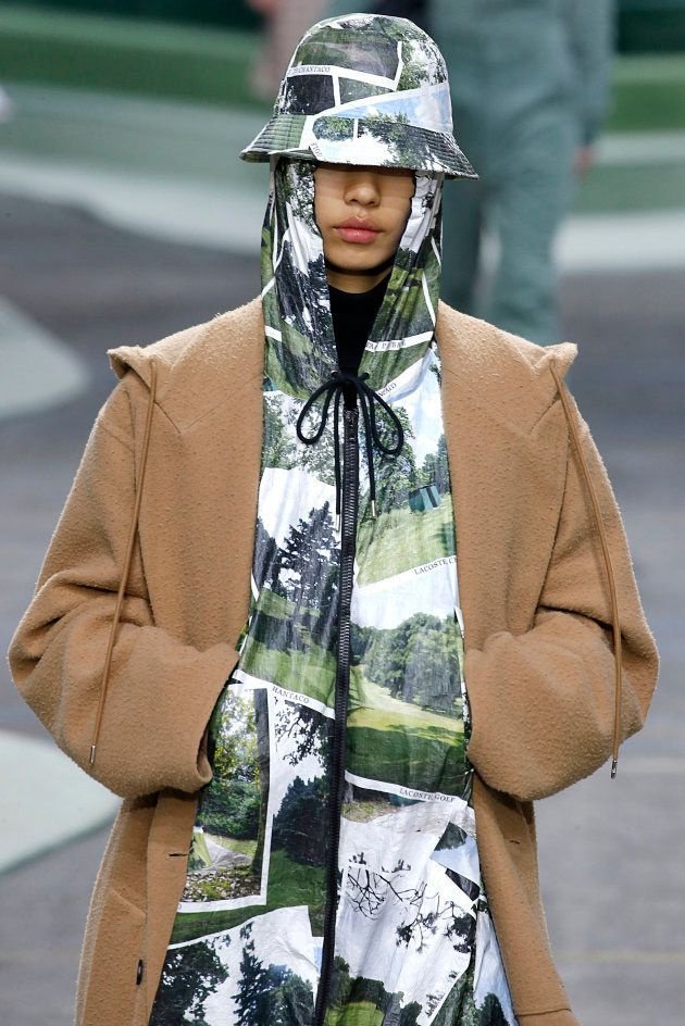 Colección Otoño-Invierno 2018 de Lacoste presentada en la Semana de la Moda de