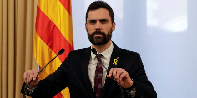 Roger Torrent propone a Jordi Sànchez como candidato a la presidencia de la