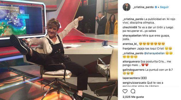 Asombro por lo que hace Cristina Pardo en las pausas de 'Al Rojo