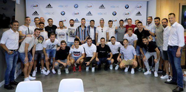 Un equipo italiano se cachondea de este 'look' de Sergio