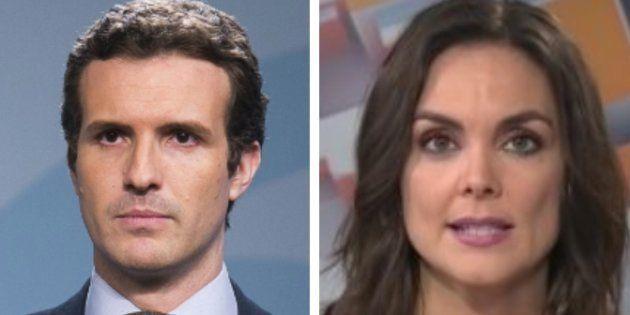 Pablo Casado y Mónica