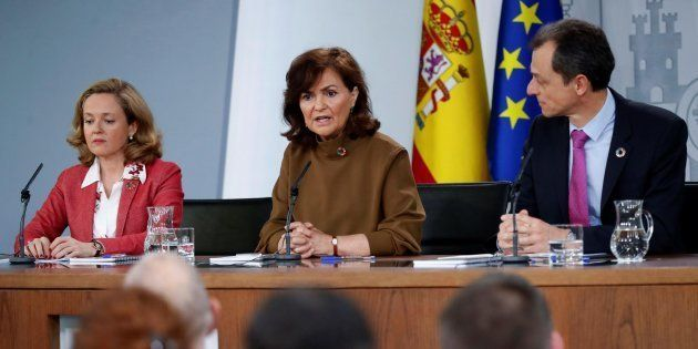 Calvo, Calviño y