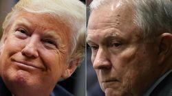 Se recrudece el enfrentamiento entre Trump y su fiscal general, algo insólito en